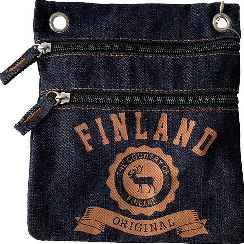 F7N-JEANS / Passport Bag Jeans Finland