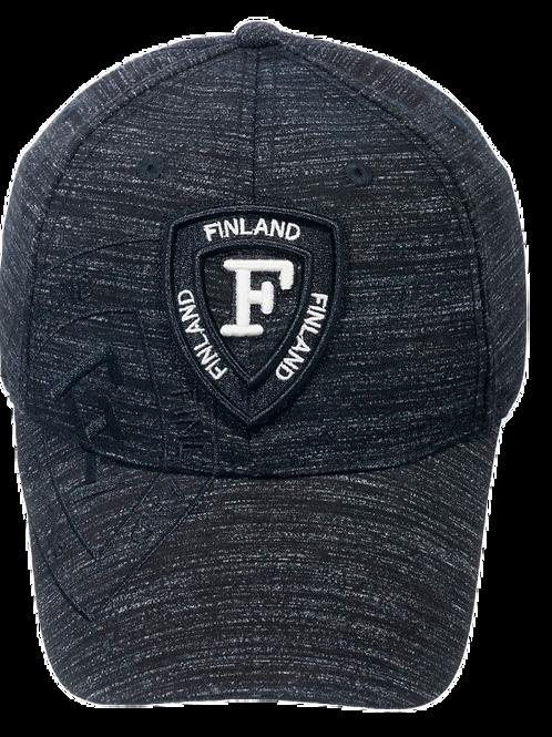 Finland Cap Sporty Style Triangle Stamp   Suomi Lippis Sporttinen Tyyli Kolmio Merkki