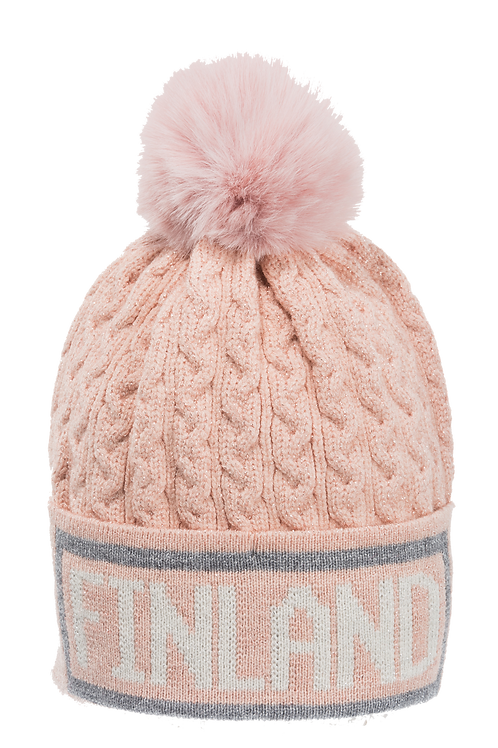 F21J / Winter Hat Braid / Glitter Finland