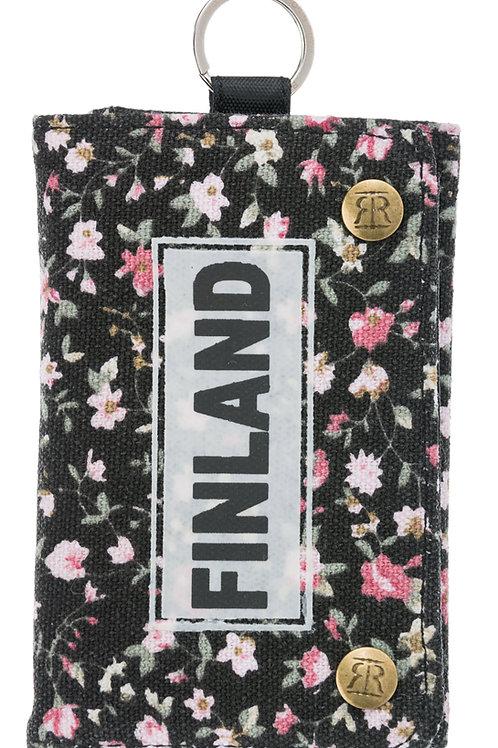 Finland Wallet Floral | Suomi Lompakko Kukallinen