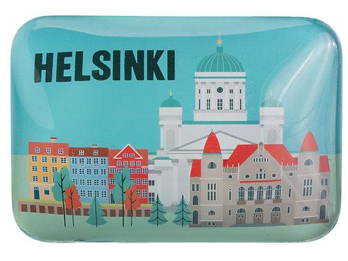 Helsinki Magnet City View Souvenir | Helsinki Magneetti Kaupunki Maisema Matkamuisto