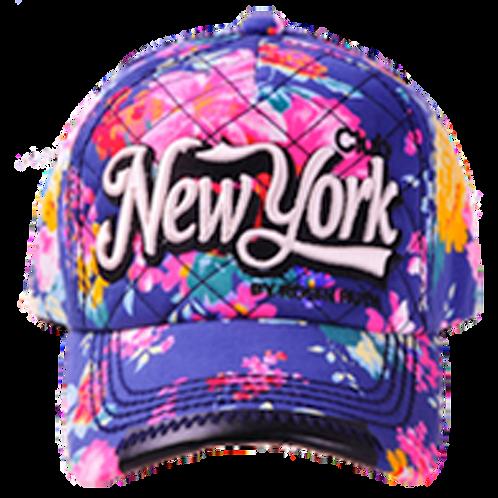 New York Cap Summer Style Floral | New York Lippis Kesä Tyyli Kukallinen