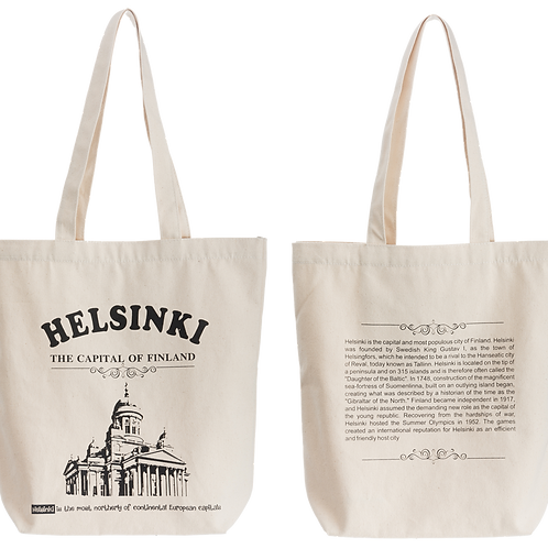 Helsinki Tote Bag Cathedral | Helsinki Kangas Kassi Tuomiokirkko