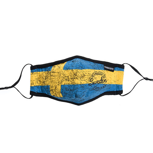 Sweden Face Mask Swedish Flag | Sweden Ansikte Mask Svenska Flagga
