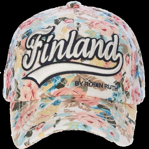 Finland Cap Summer Fashion Floral | Suomi Lippis Kesä Muoti Kukallinen