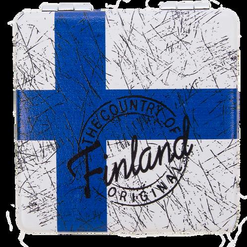 Finland Mirror Finnish Flag Souvenir Gift | Suomi Peili Suomen Lippu Matkamuisto Lahja