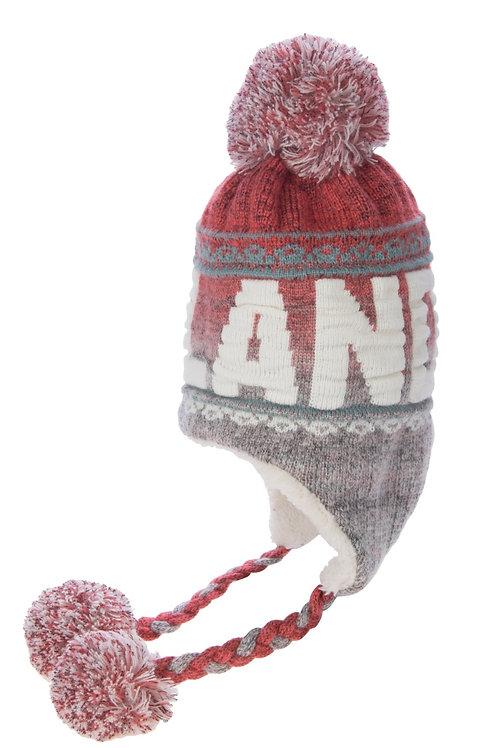 L14E / Winter Hat Bon Bon Nordic Lights Lapland
