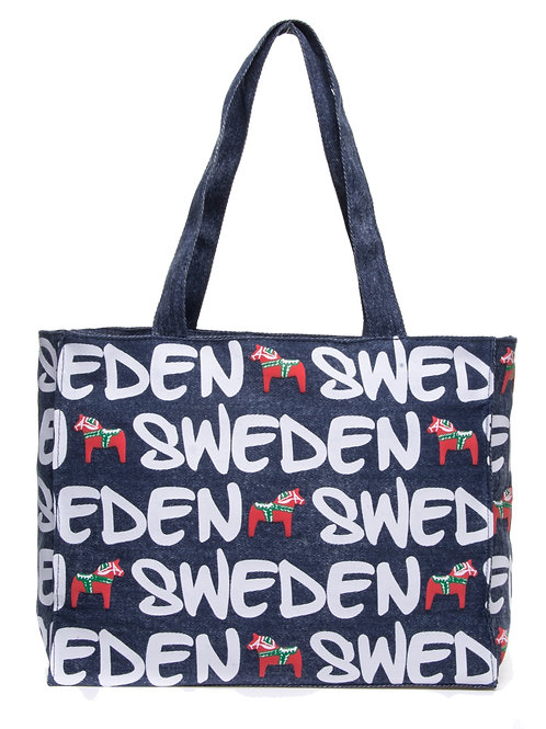 N2N / Canvas Bag Large Classic Sweden