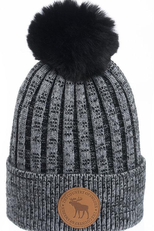 N15O / Winter Hat Leather Stamp Sweden