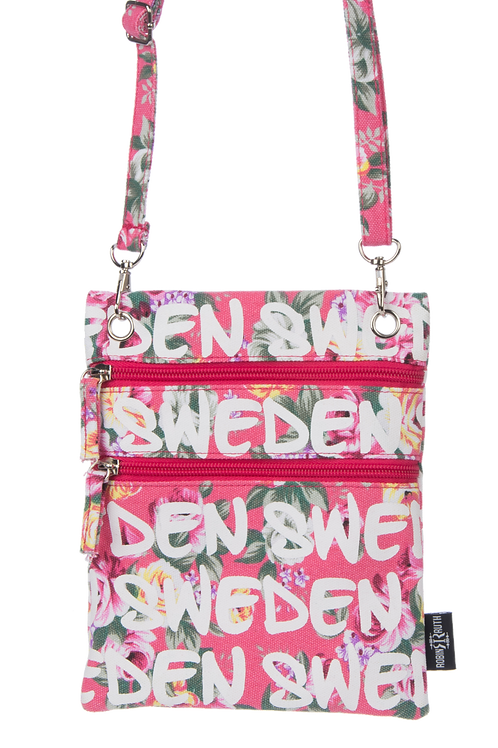 N7X / Passport Bag Floral Sweden