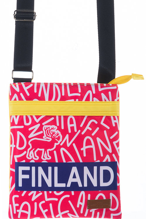 Finland Shoulder Bag Graphic | Suomi Olka Laukku Graafinen