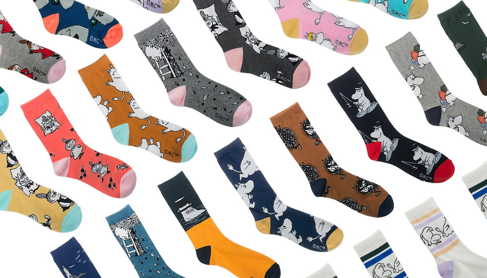 Moomin socks adult kids | Muumisukat aikuisille lapsille miehille naisille