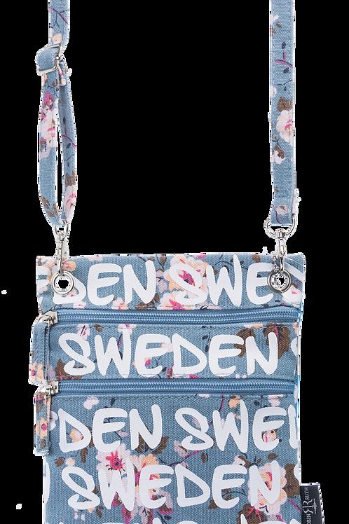 N7N / Passport Bag Floral Sweden