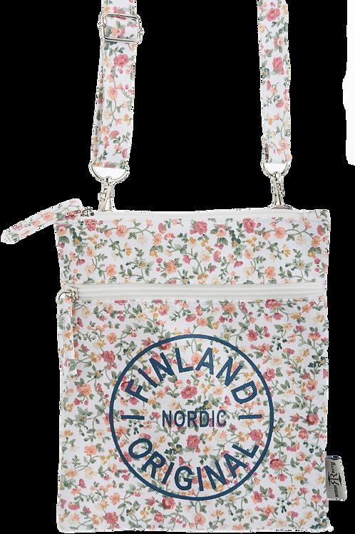 Finland Small Shoulder Bag Flower | Suomi Pieni Olka Laukku Kukka