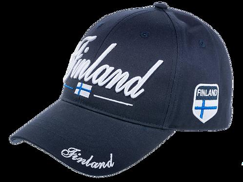 Finland Cap Flag | Suomi Lippis Lippu