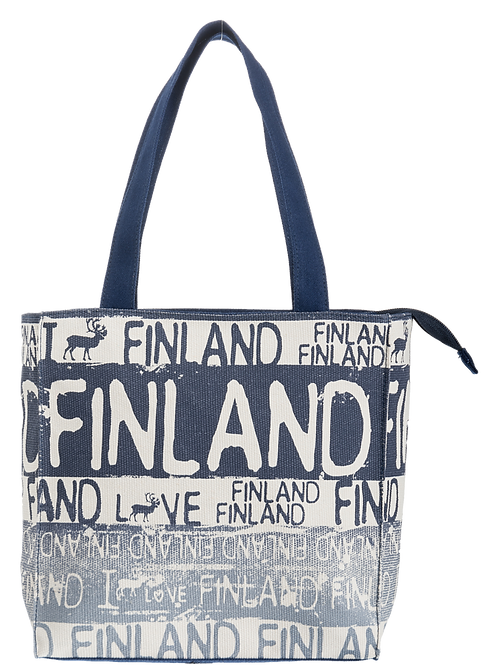 Finland Bag Reindeer   Suomi Laukku Poro