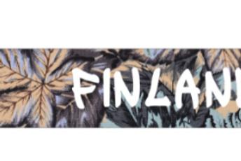 Finland Key Holder Leaf Souvenir | Suomi Avaimenperä Lehti Matkamuisto