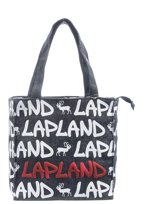 Lapland Bag Small Reindeer Denim | Lappi Laukku Pieni Poro Denim