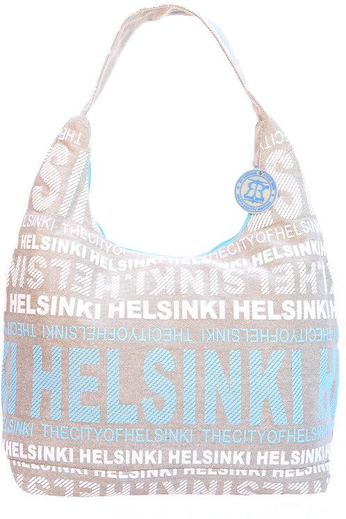 Helsinki Shoulder Bag Large Beige | Helsinki Olka Laukku Suuri Beige