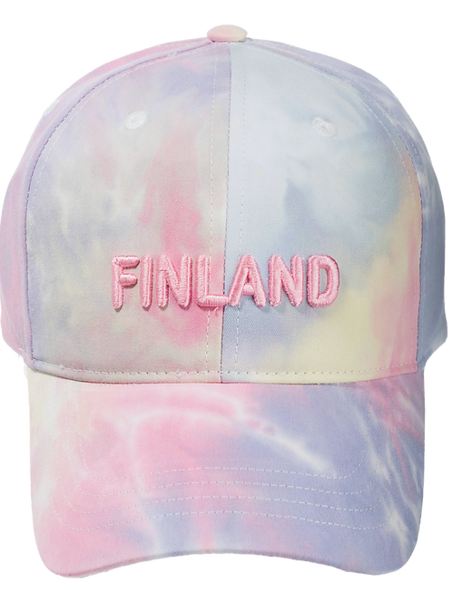 Finland Cap Cotton Candy Coloured | Suomi Lippis Hattaran värit