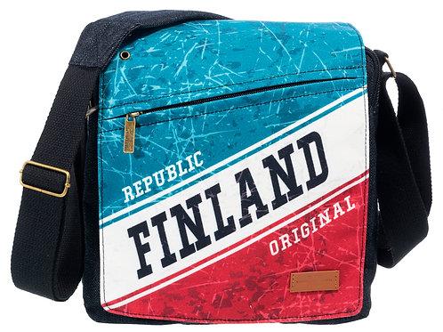 Finland Shoulder Bag Republic | Suomi Olka Laukku Tasavalta