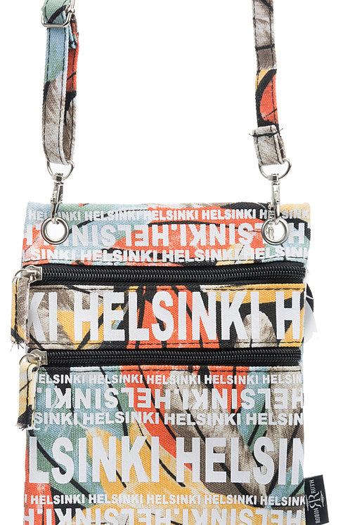 Helsinki Shoulder Bag Small Leaf | Helsinki Pieni Olka Laukku Lehti