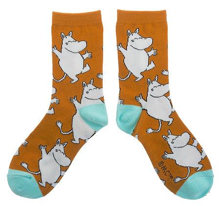 Moomin Socks Moomintroll Adult | Muumi Sukat Muumipeikko Aikuiset