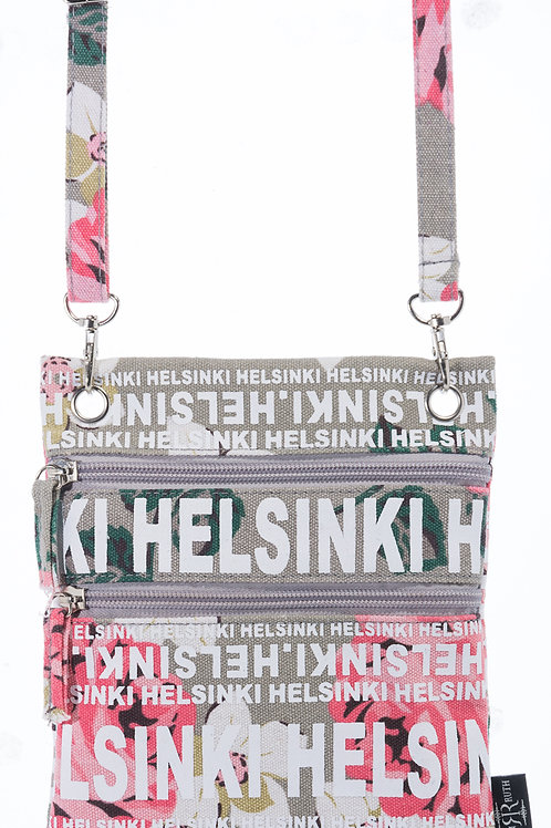 Helsinki Shoulder Bag Small Flower | Helsinki Olka Laukku Pieni Kukka