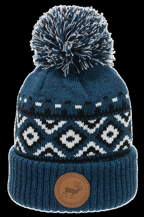 Finland Hat Leather Reindeer Stamp Winter Fashion | Suomi Pipo Nahka Poro Merkki Talvi Muoti