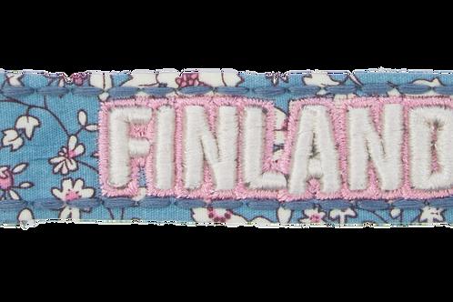 Finland Key Holder Flower Souvenir | Suomi Avaimenperä Kukka Matkamuisto