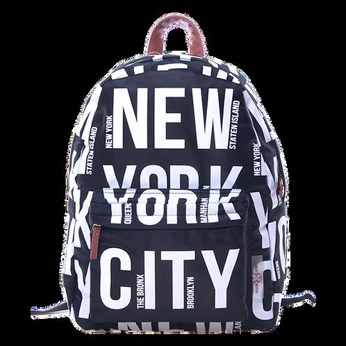 New York Backpack City Fashion | New York Reppu Kaupunki Muoti