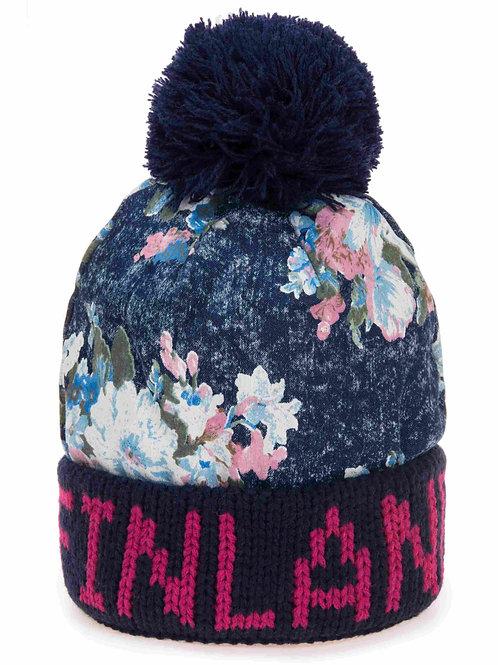 Finland Hat Winter Fashion Floral Print | Suomi Pipo Talvi Muoti Kukallinen Kuvio