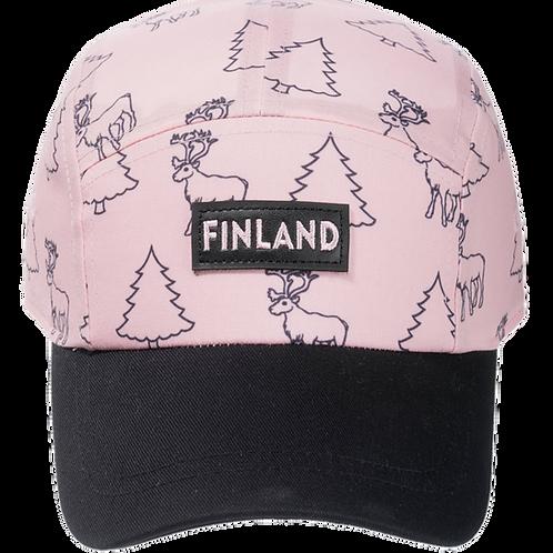 Finland Cap Kids Forest Theme | Suomi Lippis Lapset Metsä Teema