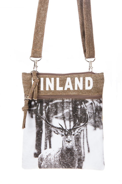 Finland Shoulder Bag Winter | Suomi Olka Laukku Talvi