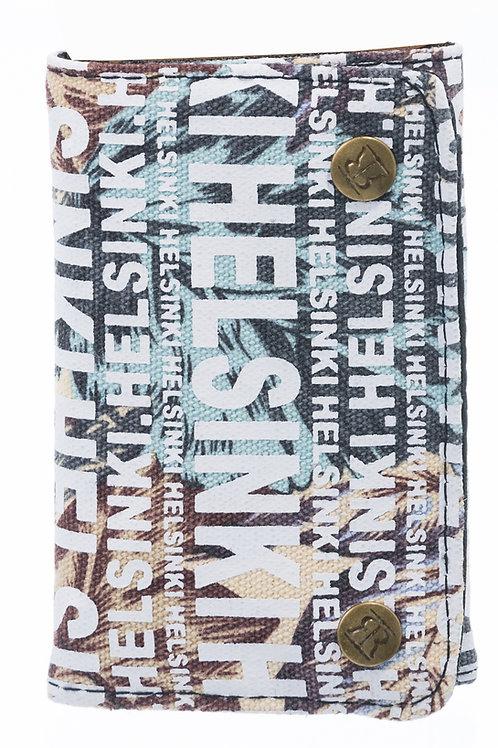 Helsinki Wallet Leaf Print Fashion | Helsinki Lompakko Lehti Kuvio Fashion