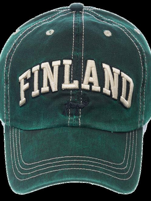 Finland Cap Reindeer Souvenir | Suomi Lippis Poro Matkamuisto