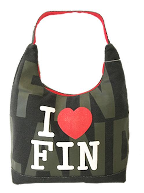 Finland Shoulder Bag Large | Suomi Olka Laukku Suuri