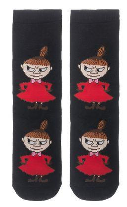 Moomin Socks Little My Adult   Muumi Sukat Pikku Myy Aikuiset