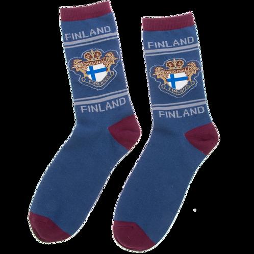 Finland Socks Finnish Flag | Suomi Sukat Suomen Lippu