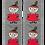 Moomin Socks Little My Adult | Muumi Sukat Pikku Myy Aikuiset