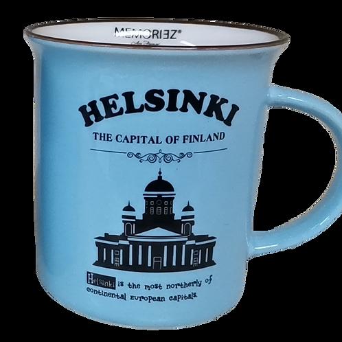 Helsinki Mug Story Cadhedral Souvenir Gift | Helsinki Muki Tarina Tuomiokirkko Matkamuisto Lahja
