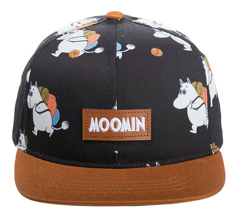 Moomin Adventure Kids Cap Black/Brown