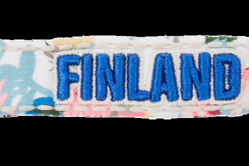 Finland Key Holder Flower Souvenir   Suomi Avaimenperä Kukka Matkamuisto