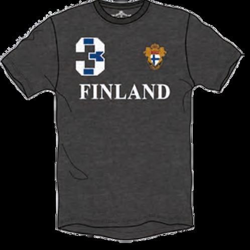 Finland T-shirt Men Finnish Flag | Suomi T-paita Miehet Suomen Lippu