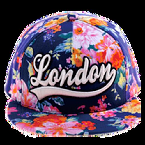 London Cap Summer Style Floral | Lontoo Lippis Kesä Tyyli Kukallinen
