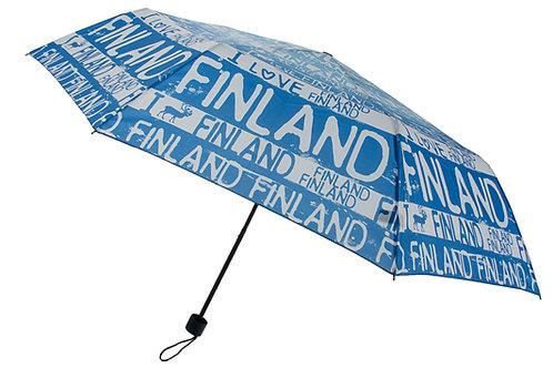Finland Umbrella Reindeer Finland Logo | Suomi Sateenvarjo Poro Suomi Logo