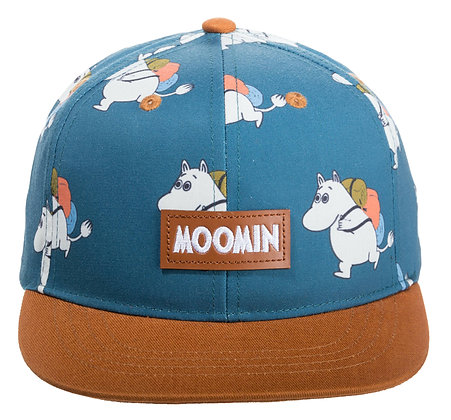 Moomin Adventure Kids Cap Petrol/Brown
