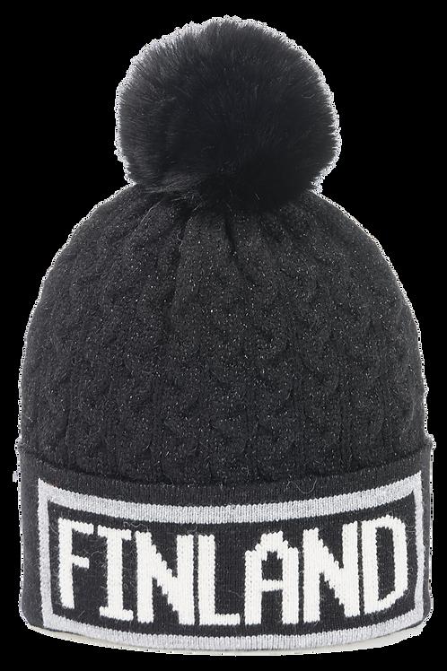 F21I / Winter Hat Braid / Glitter Finland