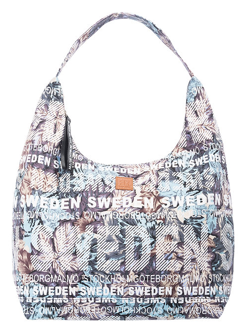 N1T / City Bag Floral Sweden