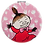 Moomin Mirror Little My | Muumi Peili Pikku Myy